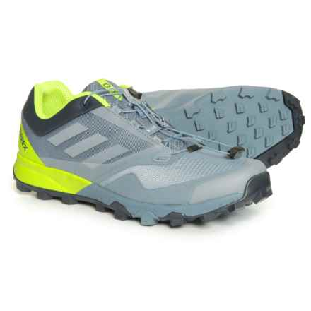 adidas Terrex Trailmaker Trail Running Shoes (For Men) in Raw Steel/Grey One/Solar Slime - Closeouts
