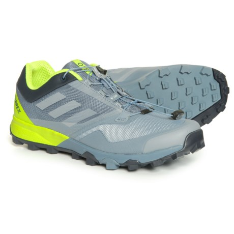 adidas Terrex Trailmaker Trail Running Shoes (For Men) in Raw Steel/Grey One/Solar Slime