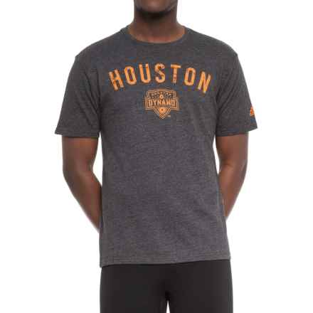 adidas Tri-Blend Shirt - Short Sleeve (For Men) in Black Heathered - Closeouts