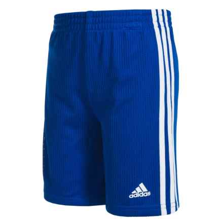adidas Triple Up Shorts (For Toddlers) in Dark Royal - Closeouts