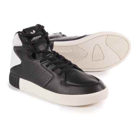 adidas Tubular Invader 2.0 Shoes - Leather (For Women) in Black/Black - Closeouts