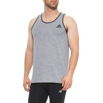 5c905b1cd57f0 adidas Ultimate 2.0 Tank Top (For Men) in Medium Grey Heather - Closeouts