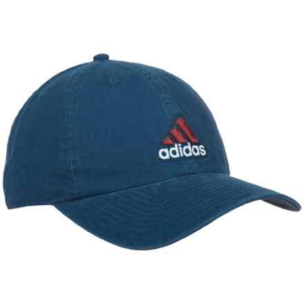 adidas Ultimate Baseball Cap (For Men) in Lake Blue/Burnt Sienna - Closeouts