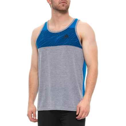 6e32b88712376c adidas Ultimate CF ClimaLite® Tank Top (For Men) in Medium Grey Heather -