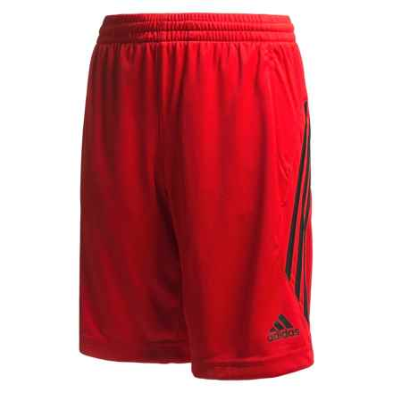 adidas Ultimate Core Shorts (For Big Boys) in Light Scarlet/Black - Closeouts