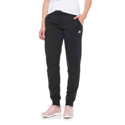 adidas Ultimate Fleece Pants (For Women) in Black - Closeouts