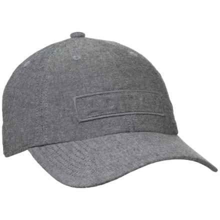 adidas Ultimate Plus Baseball Cap (For Men) in Black Chambray - Closeouts