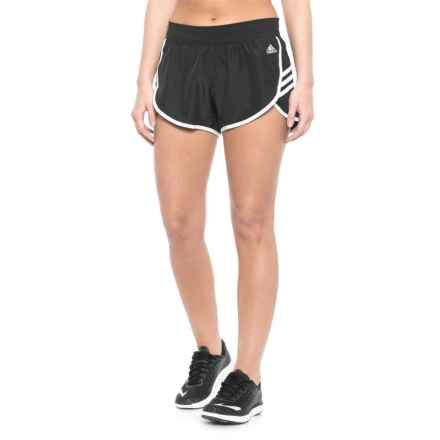 adidas Ultimate Woven Shorts (For Women) in Black - Closeouts