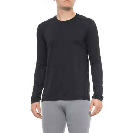 adidas Ultra Tech ClimaCool® Single Base Layer Top - UPF 25+, Long Sleeve (For Men) in Black - Closeouts