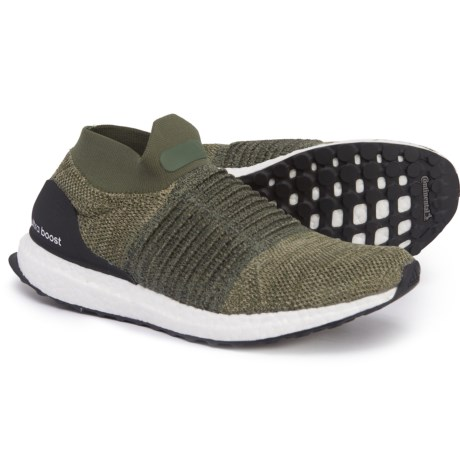 ff11ed7f19f75 adidas Ultraboost Laceless Training Shoes (For Men) in Trace Cargo Core  Black