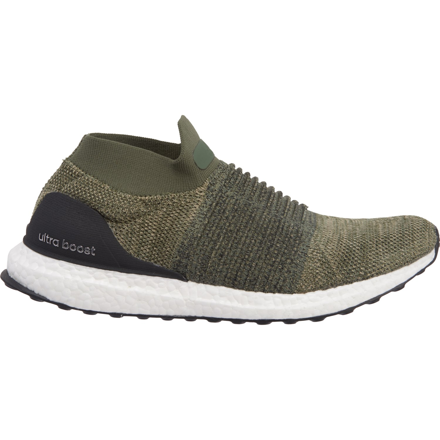 eb8a1342c adidas Ultraboost Laceless Training Shoes (For Men). Item  619DN. adidas  Ultraboost Laceless Training Shoes (For Men) in Trace Cargo Core Black