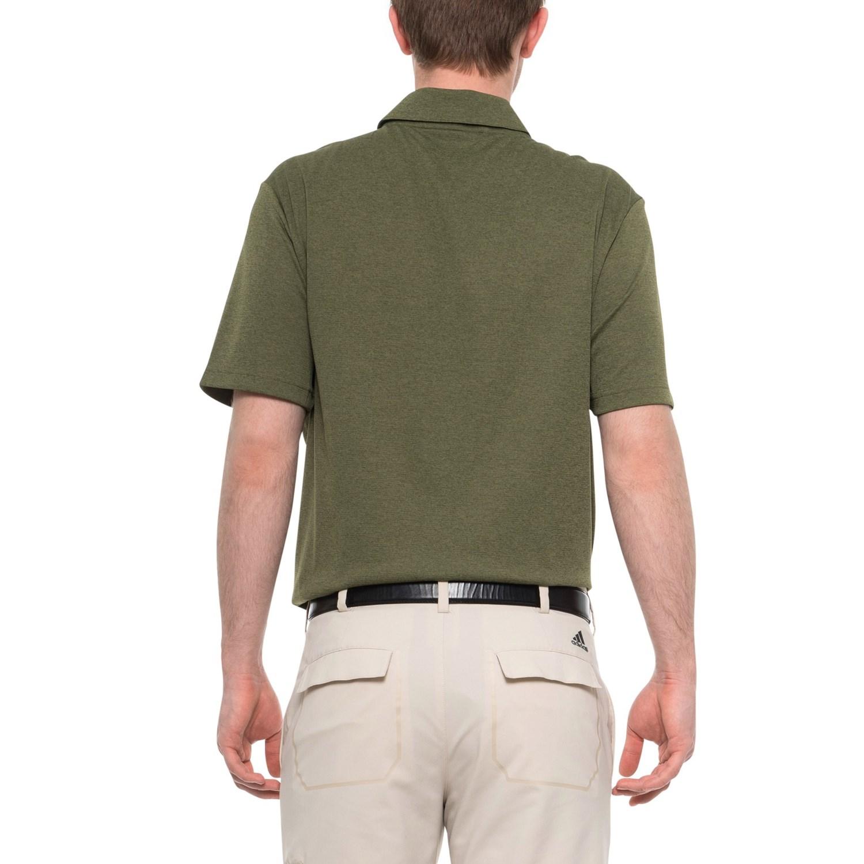77ebf3f1 Adidas Golf Mens Climacool 3 Stripes Polo Shirt – EDGE Engineering ...