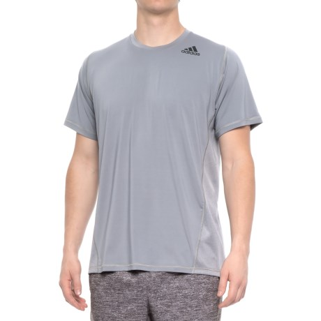 adidas Utec Shirt - Short Sleeve (For Men) in Grey