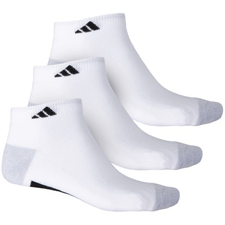 timeless design c32c9 64572 adidas Vertical 3-Stripe Low-Cut Socks - 3-Pack, Ankle (