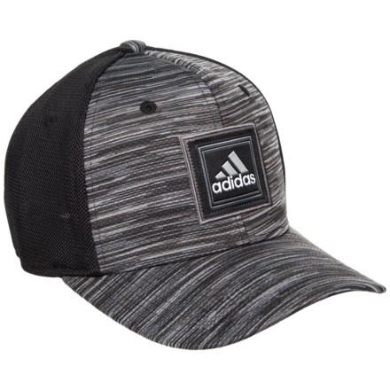 1dcbc497 adidas Veterans Stretch Fit Baseball Cap (For Men) in Black/Onix Space Dye