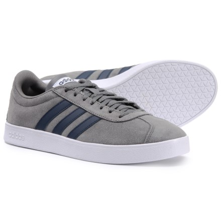 adidas VL Court 2.0 Casual Shoes (For Men) in Grey Four Collegiate Navy b91868756