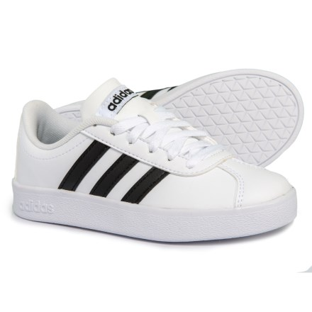 6beddca4b238 adidas VL Court 2.0 Sneakers (For Boys) in Footwear White Core Black