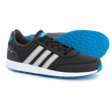 adidas VS Switch Shoes (For Big Boys) in Black/Grey/Blue