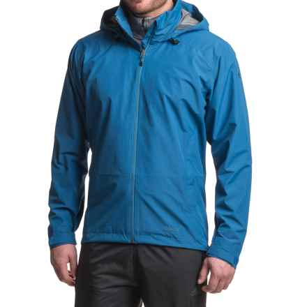 adidas Wandertag Gore-Tex® Jacket - Waterproof (For Men) in Eqt Blue - Closeouts