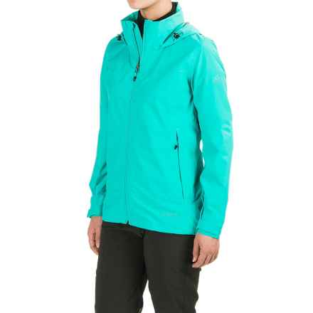 adidas Wandertag Gore-Tex® Jacket - Waterproof (For Women) in Vivid Mint - Closeouts