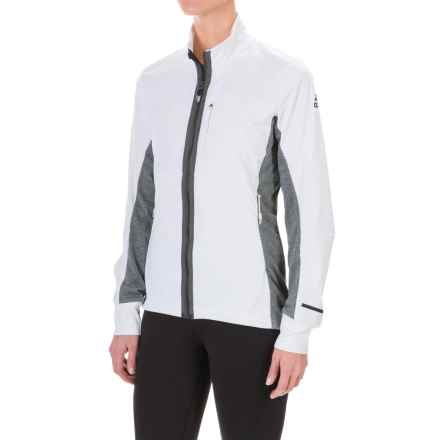 adidas Xperior Soft Shell Jacket (For Women) in White - Closeouts