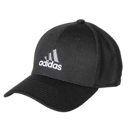 69c58f8d6b2 adidas Zags II A-Flex Baseball Cap (For Men) in Black White