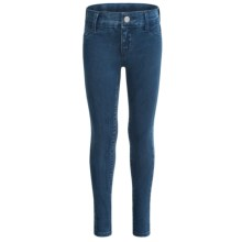 Adjustable Waist Skinny Jeans (For Little and Big Girls) in Jean - Closeouts