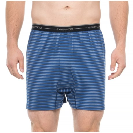 Image of Admiral G Stripe Sol Cool Printed Boxers (For Men)