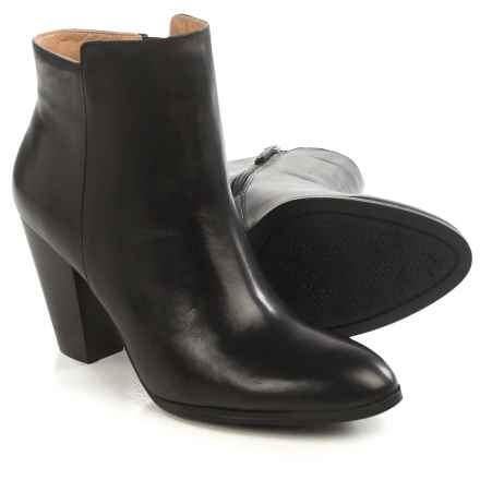 Adrienne Vittadini Beah Ankle Boots - Leather (For Women) in Black Soft Calf - Closeouts