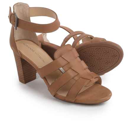 Adrienne Vittadini Belinda Sandals - Leather (For Women) in Sand - Closeouts