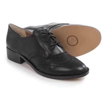 Adrienne Vittadini Biome Oxford Shoes - Leather (For Women) in Black - Closeouts