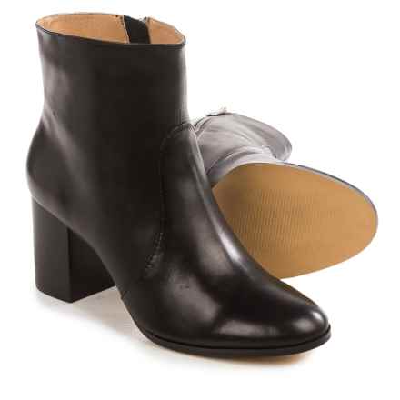 Adrienne Vittadini Bob Ankle Boots - Leather (For Women) in Black - Closeouts