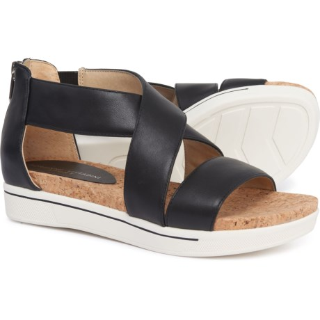 6954435fa1ee Adrienne Vittadini Claud Sport Sandals - Leather (For Women) in Black