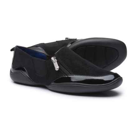 Adrienne Vittadini Ganesa Shoes - Suede (For Women) in Black - Closeouts