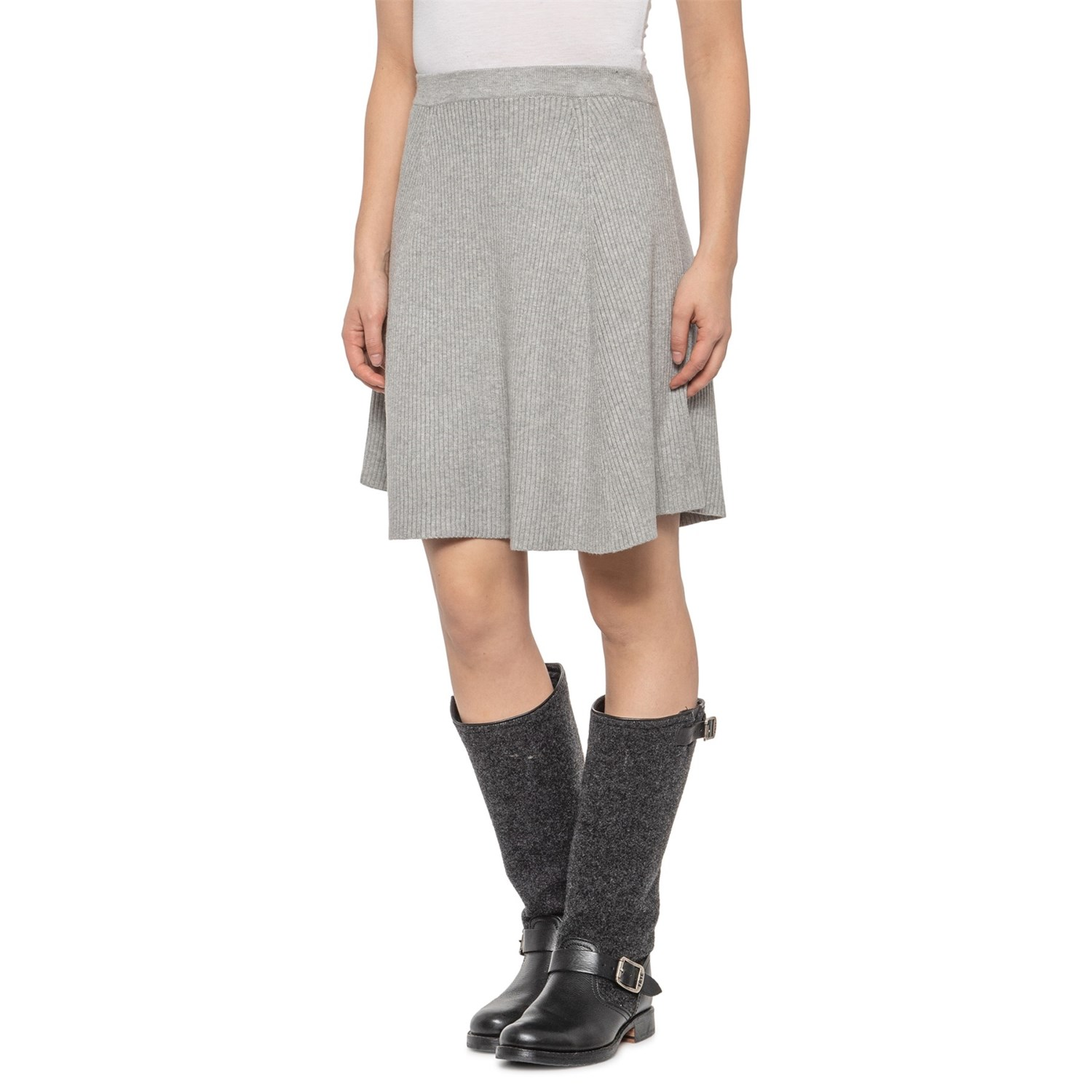 Adrienne Vittadini Grey Solid Skirt For Women Save 42 See more of adrienne vittadini on facebook. adrienne vittadini