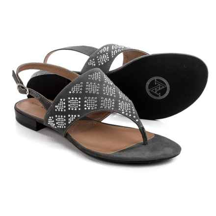 Adrienne Vittadini Merian Sandals (For Women) in Grey - Closeouts