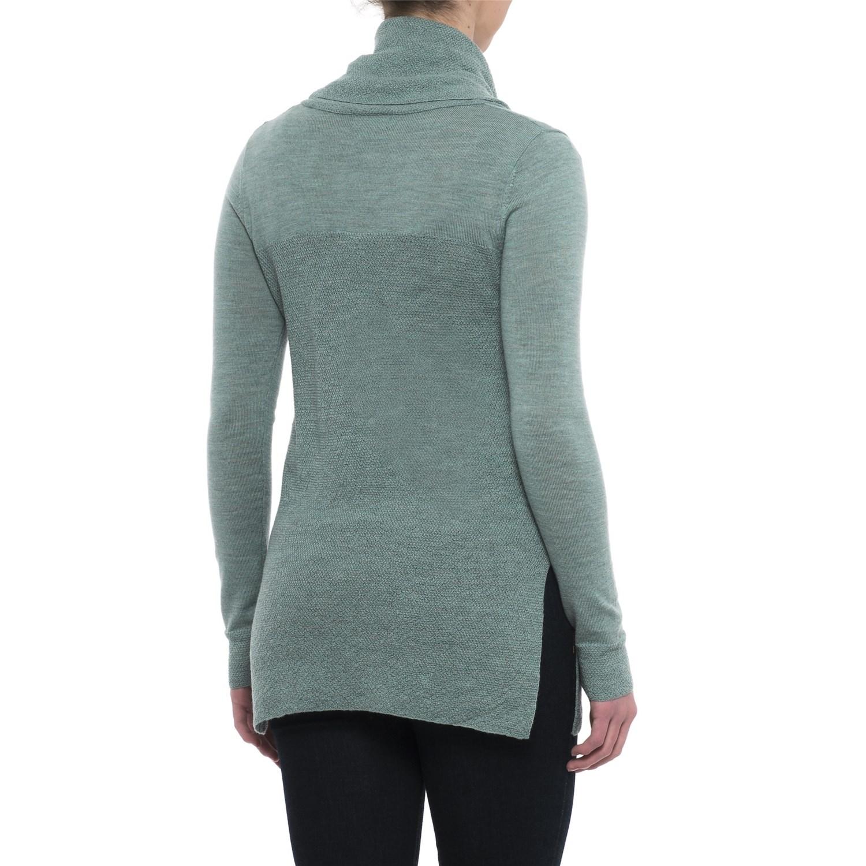 Adrienne Vittadini Merino Cashfeel Sweater (For Women) - Save 48%