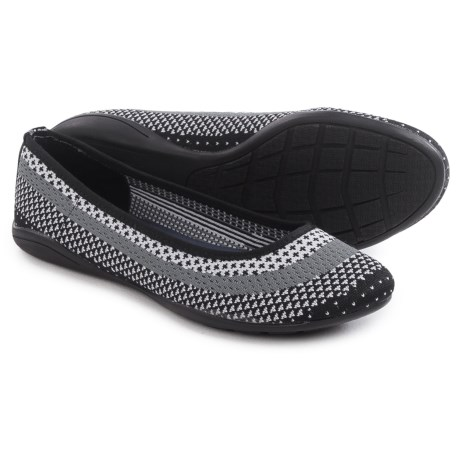 Adrienne Vittadini Moonstone Knit Flats (For Women)