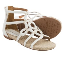 Adrienne Vittadini Pablic Sandals - Leather (For Women) in White - Closeouts