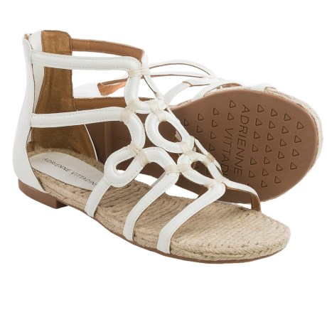Adrienne Vittadini Pablic Sandals Leather (For Women)