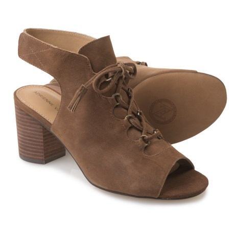 Adrienne Vittadini Peavy Shoes - Suede (For Women) in Taupe Suede Wash
