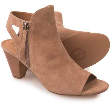 Adrienne Vittadini Phyre Shoes - Suede (For Women) in Almond - Closeouts