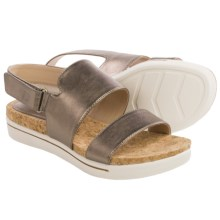 Adrienne Vittadini Sport Chuckie Sandals - Leather (For Women) in Champagne - Closeouts