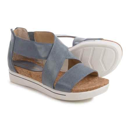 Adrienne Vittadini Sport Claud Sandals - Leather (For Women) in Denim - Closeouts