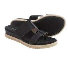 Adrienne Vittadini Sport Codie Sandals (For Women) in Black - Closeouts