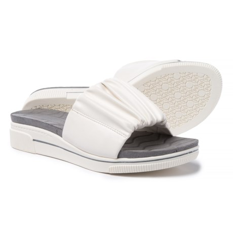 Adrienne Vittadini Sport Curtis Sandals (For Women) in White Smooth