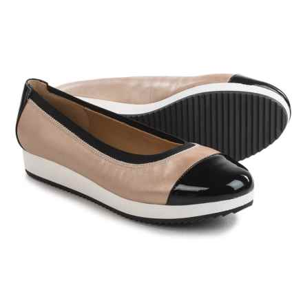 Adrienne Vittadini Sport Gilsa Shoes - Leather (For Women) in Taupe/Black - Closeouts