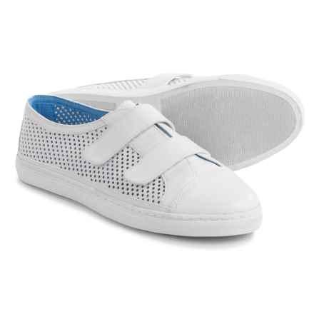 Adrienne Vittadini Sulla Sneakers - Leather (For Women) in White - Closeouts