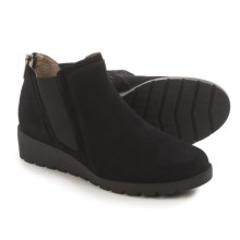 Adrienne Vittadini Tolo Chelsea Boots - Suede (For Women) in Black Suede - Closeouts
