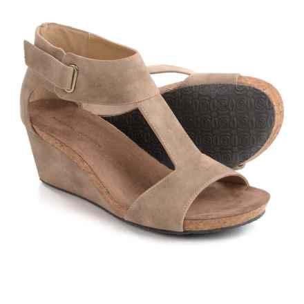 Adrienne Vittadini Trellis Sandals (For Women) in Sand - Closeouts